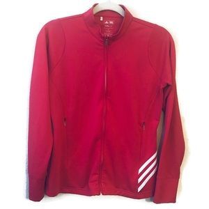 Adidas Golf Pink Running Track Jacket size Small